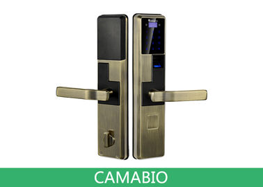 CAMA-C010 Keyless Keypad Bio-Matic Fingerprint Door Lock With Deadbolt